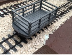 Industrial Slate Wagon