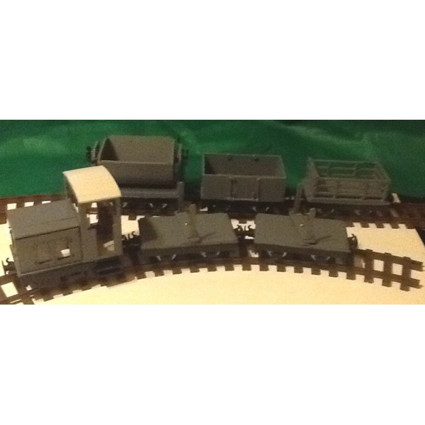 Industrial Diesel Train Set