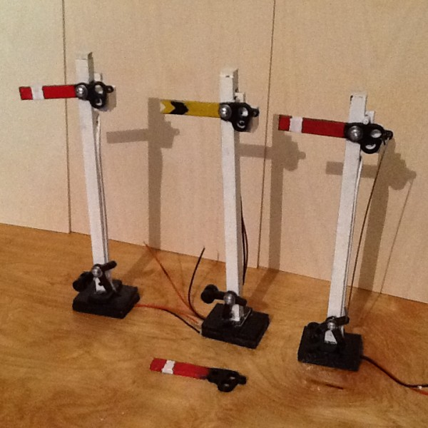 Semaphore Signals Pack of 3