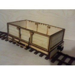 Seven Eights Scale Open Wagon