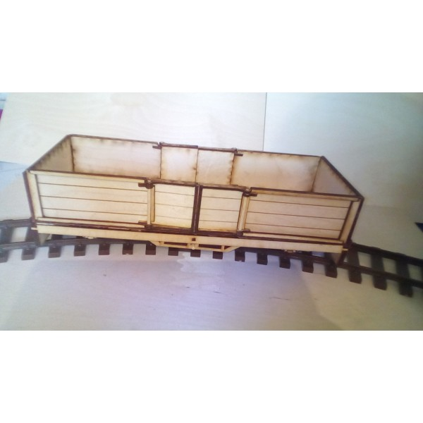 Seven Eighth Scale Bogie Open Wagon