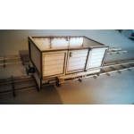 seven eighth scale industrial open wagon