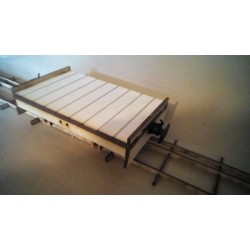 Seven Eighth Scale Industrial Platform Wagon