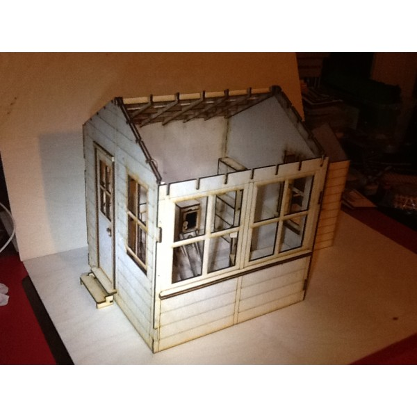 Seven Eighth Scale Signal Box and Line Side Hut Kit