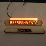 Refreshment Stand with Led Sign