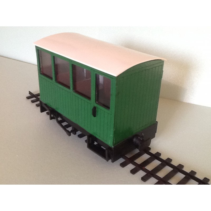 Rooms: Passenger Coach Garden Railway
