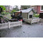 Fence Panels And Hinged Gate Pack Of Six