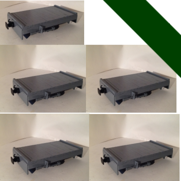 5 Pack Of Platform Wagons