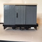3 Box Van Wagons for 16mm scale