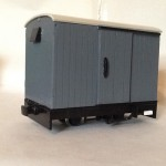 3 Box Van Wagons for 16mm scale SM32/G45