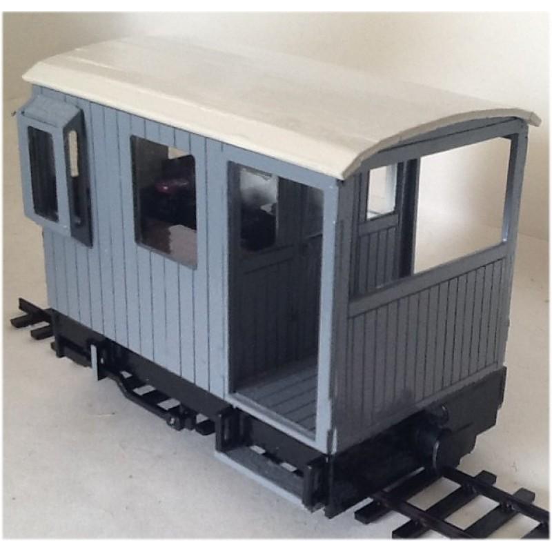 16mm Scale Guards Van For Sm32 G45 Garden Railways