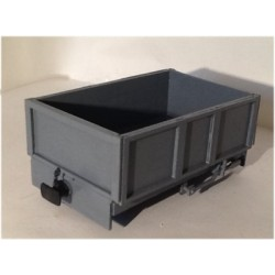 3 Open Wagons for 16mm scale SM32/G45